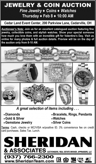 Jewelry & Coin Auction