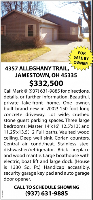 4357 Alleghany Trail, Jamestown