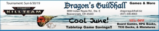 Cool June! - Tabletop Game Savings!