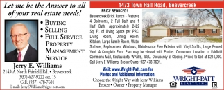 1473 Town Hall Road, Beavercreek