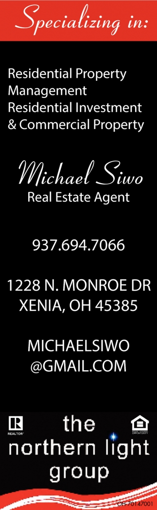 Michael Siwo ~ Real Estate Agent