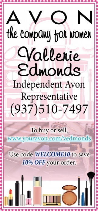 Vallerie Edmonds, Independent Avon Representative