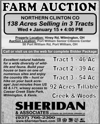 Farm Auction - January 15