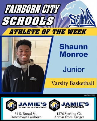 Athlete of the week