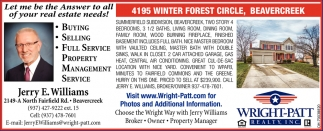 4195 Winter Forest Circle, Beavercreek