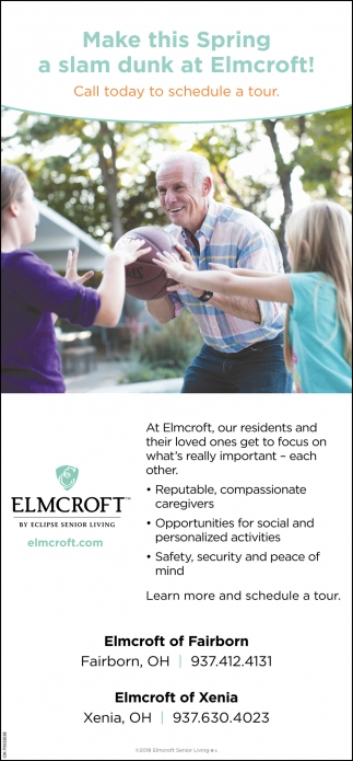 Make this Spring a slam dunk at Elmcroft!