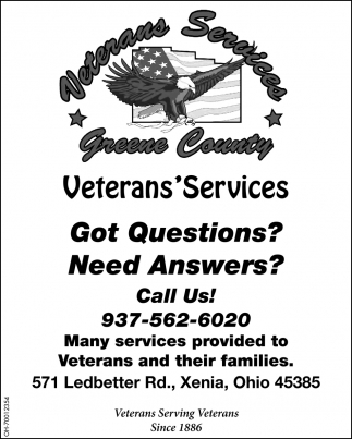 Veterans Serving Veterans Since 1886