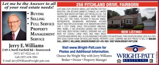 258 Fitchland Drive, Fairborn
