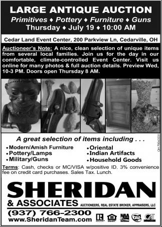 Large Antique Auction