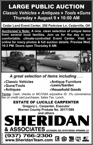 Large Public Auction