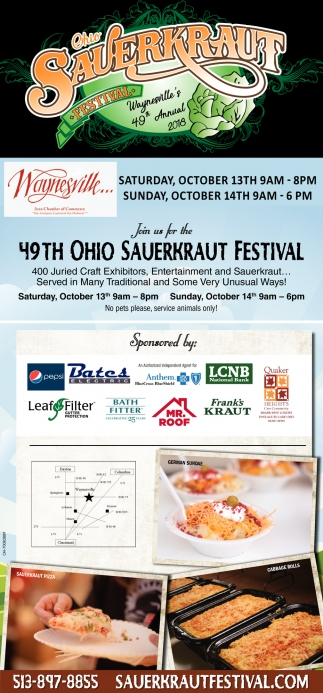 49th Ohio Sauerkraut Festival