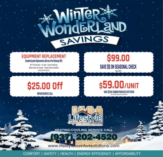 Winter Wonderland Savings