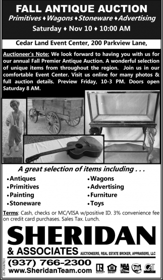 Fall Antique Auction