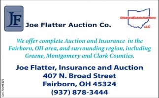 Complete Auction and Insurance in the Fairborn, OH area