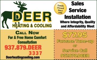 Sales, Service & Installation