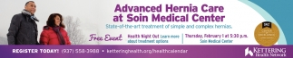 Advanced Hernia Care at Soin Medical Center