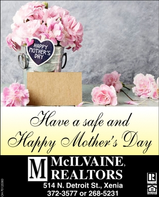Have a safe and Happy mother's Day