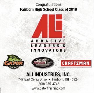 Congratulations Fairborn high School Class of 2019