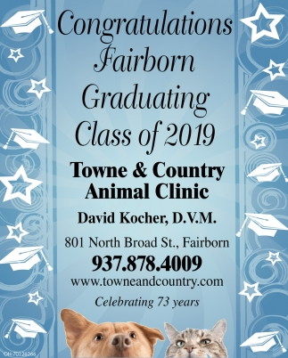 Congratulations Fairborn Graduating Class of 2019